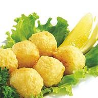 Рисовые шарики с сыром Фото
