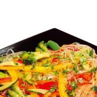 Фунчоза с овощами Фото