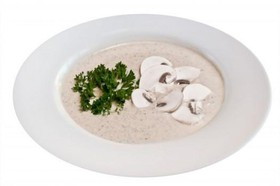 Крем-суп с шампиньонами - Фото