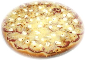 Пицца с салями и брынзой - Фото