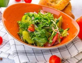 Овощной салат по-грузински - Фото