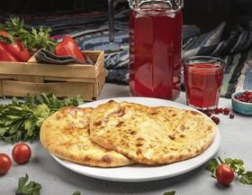 2 хачапури по-имеретински и 1 л морса - Фото