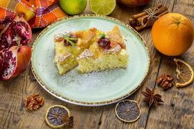 Домашний творожный пирог - Фото