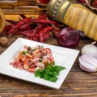 Салат из ароматной куриной грудки Фото