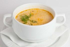 Сливочный суп с куриным филе - Фото