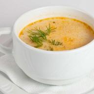 Сливочный суп с куриным филе Фото