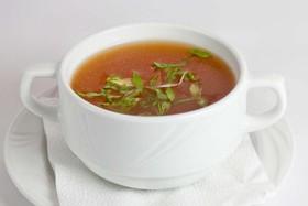 Суп с морским окунем - Фото