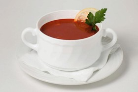 Томатный суп с морепродуктами - Фото