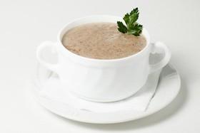 Грибной суп пюре - Фото