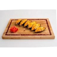 Мидии киви под сырным соусом Фото