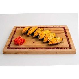 Мидии киви под сырным соусом - Фото