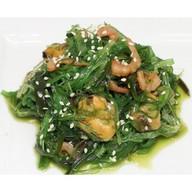 Чукка салат с морепродуктами Фото