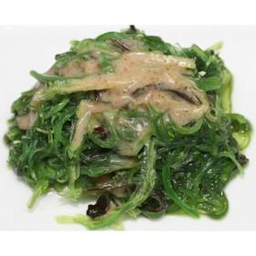 Чукка салат с ореховым соусом - Фото
