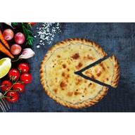 Пирог с сёмгой и шпинатом Фото