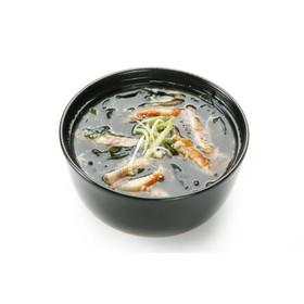 Суп с копченым угрем - Фото