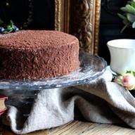 Медовик шоколадный Фото