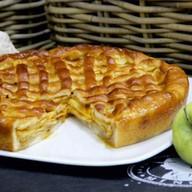 Пирог с яблоком и облепихой Фото