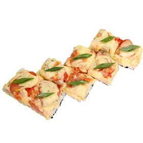 Суши –пицца с рыбой - Фото