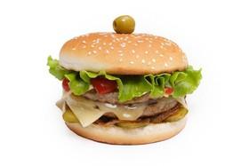 Блек бургер - Фото