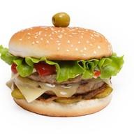Блек бургер Фото