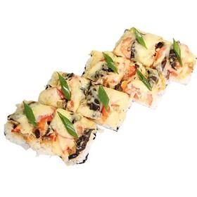 Суши - пицца с курицей - Фото