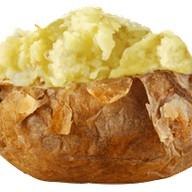 Картошка с сыром Фото