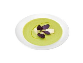 Крем суп из горошка - Фото
