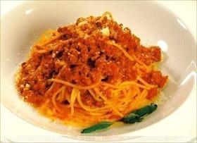 Спагетти с соусом Болоньез - Фото