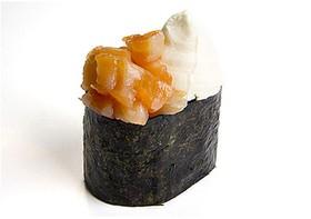 Суши с сыром и лососем - Фото