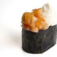Суши с сыром и лососем Фото