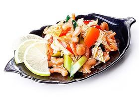 Ким чи овощной с креветкой - Фото