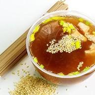 Суп с лососем Фото