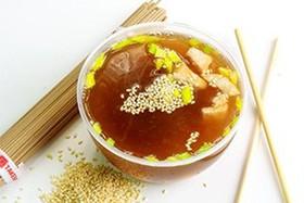 Суп с лососем - Фото