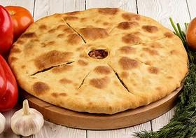 Пирог с мясом и капустой - Фото