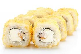 Темпура с лососем и креветкой - Фото