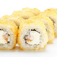 Темпура с лососем и креветкой Фото