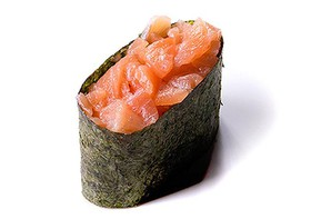 Спайси суши лосось - Фото