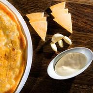 Сырная с чесночком Фото
