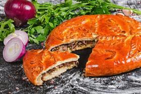 Пирог с говядиной - Фото