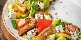 Из овощей с брынзой и баклажанами - Фото