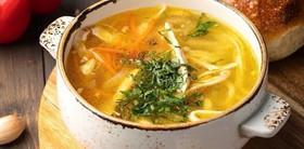 Домашний суп-лапша - Фото