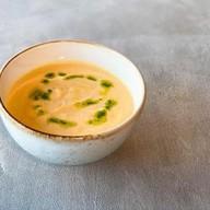 Овощной крем-суп с сухариками Фото
