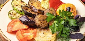Сезонные овощи на углях - Фото