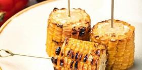 Кукуруза запеченная на углях - Фото