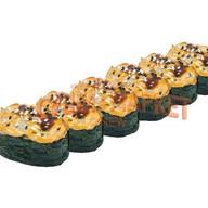 Запеченные суши сет Фото