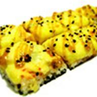 Суши-пицца креветка-угорь Фото