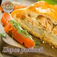 Пирог рыбный Фото