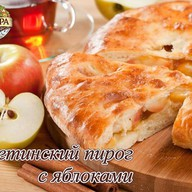 Осетинский пирог с яблоком Фото