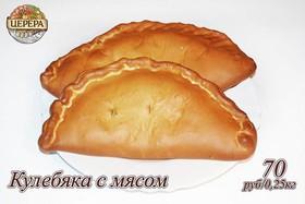 Кулебяка с мясом - Фото