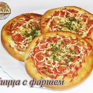 Пицца с фаршем Фото